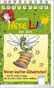 Hexe Lilli - Das Quiz: Warum leuchten Glühwürmchen?