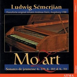 Mozart: Piano sonatas Vol.1