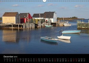 Canada\'s East Coast / UK-Version (Wall Calendar 2015 DIN A3 Lan