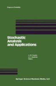 Stochastic Analysis and Applications