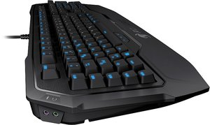 ROCCAT Ryos MK Pro, MX RED, Gaming-Tastatur (deutsches Tastatur-