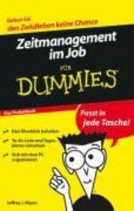 Zeitmanagement im Job für Dummies. Das Pocketbuch