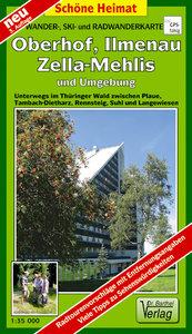 Oberhof und Umgebung 1 : 35 000. Radwander-und Wanderkarte