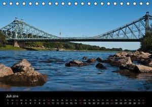 Dresden, das Florenz an der Elbe / CH-Version (Tischkalender 201