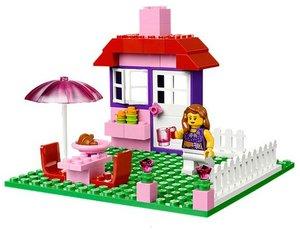 LEGO® Steine & Co. 10660 - pinkfarbener LEGO® Koffer
