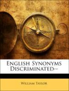English Synonyms Discriminated--