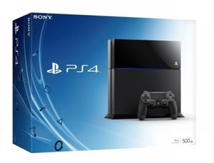 Sony PlayStation 4 Konsole - 500 GB - Schwarz