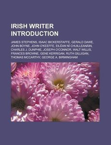 Irish writer Introduction