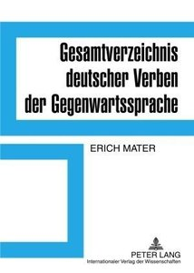 Gesamtverzeichnis deutscher Verben der Gegenwartssprache