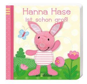 Mein Fingerpuppenbuch - Hanna Hase ist schon groß