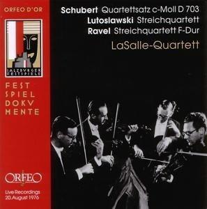 Quartettsatz D 703/Streichquartett B-Dur op.130/+