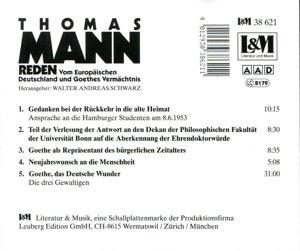 Reden 2! Vom Europäischen Deutschland Und Goethes