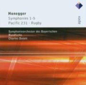 Sinfonien 1-5/Pacific 231