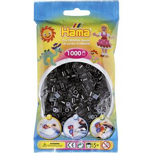 Hama 207-18 - Perlen schwarz, 1000 Stück