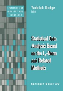 Statistical Data Analysis Based on the L1-Norm and Related Metho