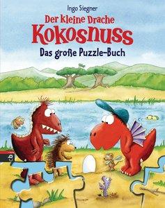 Der kleine Drache Kokosnuss - Das große Puzzle-Buch