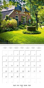 The dream of country life (Wall Calendar 2015 300 × 300 mm Squar