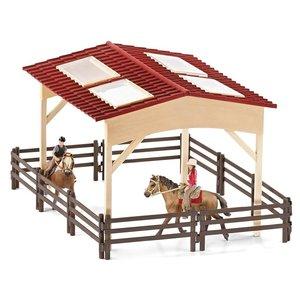 Schleich 42103 - Pferdehof mit Zubehör