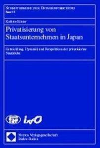 Privatisierung von Staatsunternehmen in Japan
