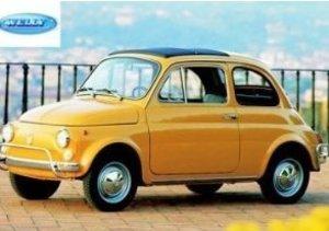 Cars & Co. 3272515 - Welly: 57er Fiat 500, weiß