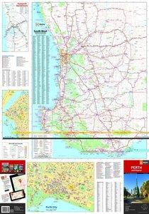 Perth + Region City Handy Map