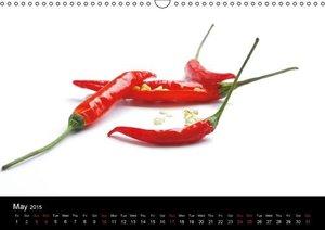 Hot Chili Calendar (Wall Calendar 2015 DIN A3 Landscape)