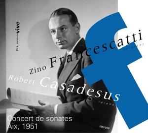 Concert De Sonates (Aix,1951)