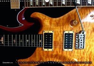 ROCK GUITARS Snapshots (Wall Calendar 2015 DIN A3 Landscape)