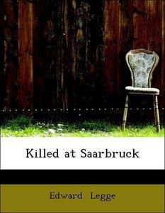 Killed at Saarbruck