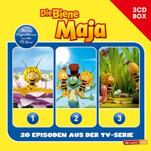 Die Biene Maja 3-CD Hörspielbox zur neuen TV-Serie (CGI) Vol. 1