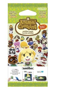amiibo Karten 3 Stk. Animal Crossing HHD