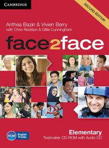 face2face. Testmaker CD-ROM and Audio-CD. Elementary 2nd edition