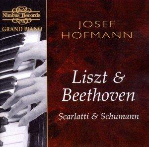 Hofmann Plays Liszt+Beethoven