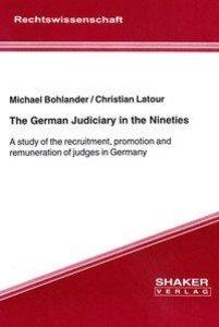 The German Judiciary in the Nineties