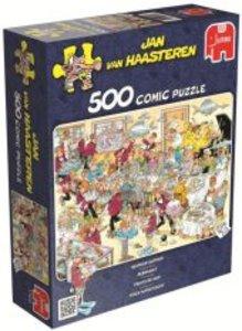 Jan van Haasteren - Fisch aufgetischt - 500 Teile