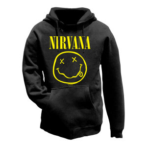 Smiley-Hoodie-Size S