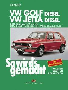 So wird's gemacht, VW GOLF-Diesel / VW JETTA Diesel