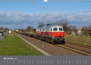 Eisenbahn Kalender 2017 - Oberlausitz und Nachbarländer