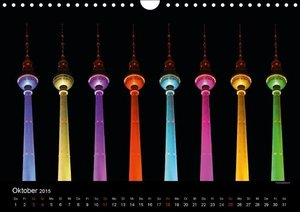 Colours of Berlin (Wandkalender 2015 DIN A4 quer)