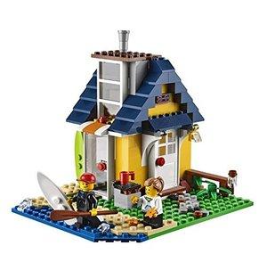LEGO 31035 - Creator: Strandhütte, 3in1: Strandhütte, Badehaus,