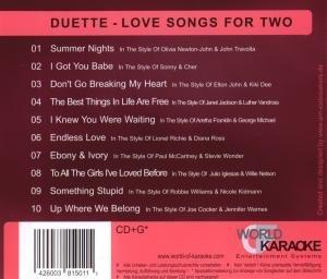 Karaoke CDG Duets