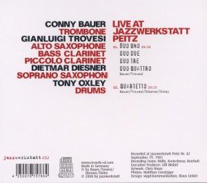 Live At Jazzwerkstatt Peitz - zum Schließen ins Bild klicken