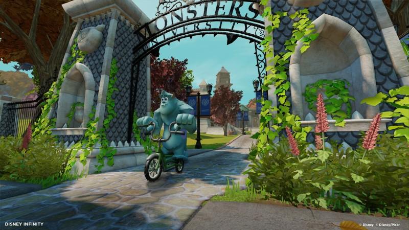 Disney INFINITY - Starter Set Wii (inkl. 3 Figuren, Portal und 1 - zum Schließen ins Bild klicken