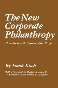 The New Corporate Philanthropy