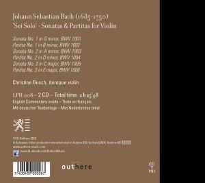 Sonaten und Partiten für Solo-Violine