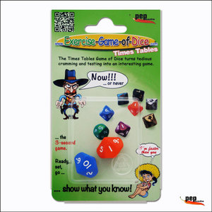 """Exercise-Game-of Dice """"Times Tables"""""""