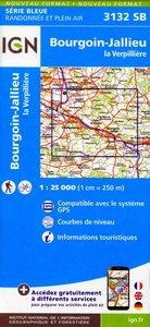 Bourgoin Jallieu 1 : 25 000
