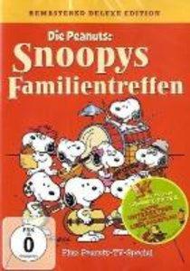 The Peanuts - Snoopys Familientreffen + Untersetzer