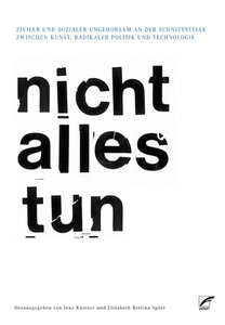 nicht alles tun/cannot do everything