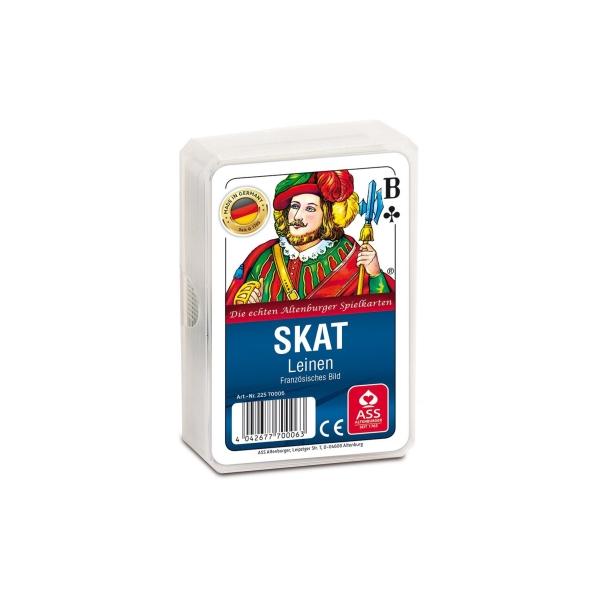 ASS Altenburger Spielkarten 70006 - Skat, Französisches Bild, Le - zum Schließen ins Bild klicken